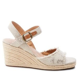 Lucky Brand Mindra espadrille wedge sandals 8.5